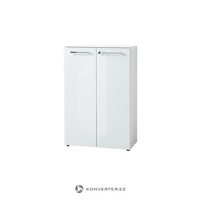 White high gloss cabinet (monteria)