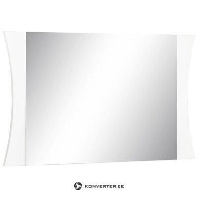 Balts spogulis ar spīdumu