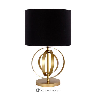Black-golden table lamp many (port reputation) (box, healthy)