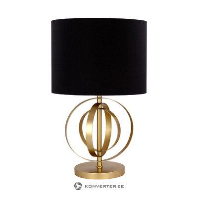 Черно-золотая настольная лампа многие (порт репутации) (коробка, здоровая)