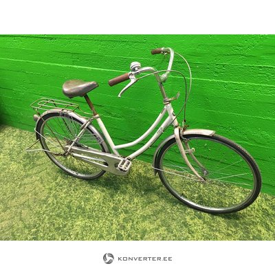White Retro Bicycle