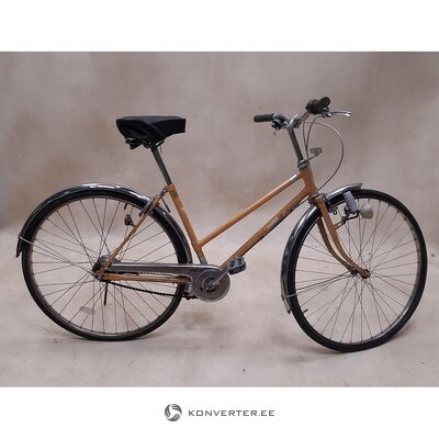 Beige bicycle
