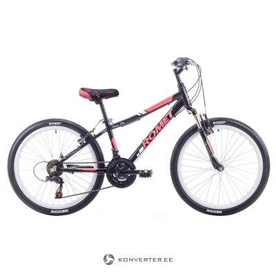 "Bērnu velosipēds Romet Jolene melns sarkans (13 "" 24"")"