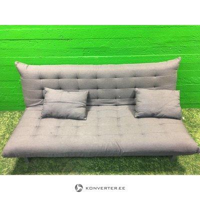 Dīvānu metāla rāmis (pelēks)