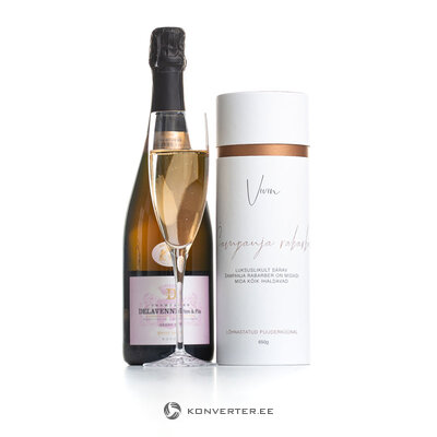 Lõhnastatud Puuderküünal (Šampanja rabarber) Vivin