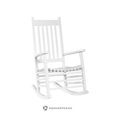 White rocking chair (hübsch)