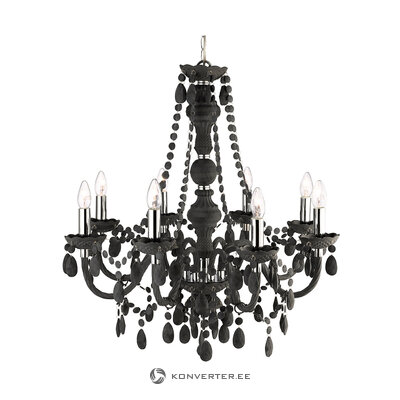 Black chandelier marie therese (searchlight) (in box, whole)