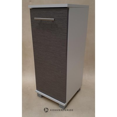 White Gray Small Cabinet (Whole)