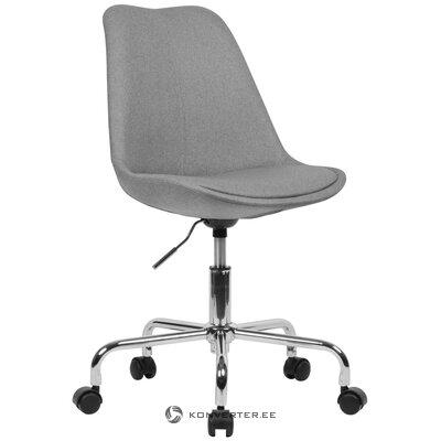 Gray office chair lenka (skyport) (healthy, sample)