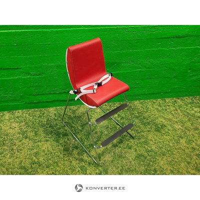 Red children's chair (brio)