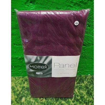 Purple Panel Curtain Moltex (45x230cm) (2pcs)
