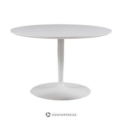 Valkoinen ruokapöytä planeetta