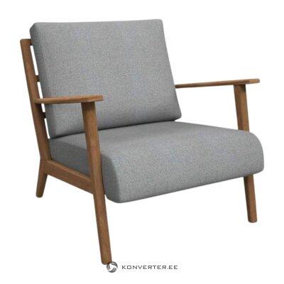 Gaiši pelēks mīksts krēslu wiken (biotops)