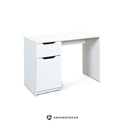 Valkoinen työpöytä (westphalen) (kauneusvirheillä. Hall-näyte)