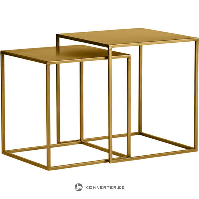 Sofa table set 2-piece ziva (woood) (whole, in a box)