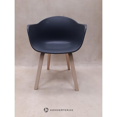 Gray chair (with defects., Hall sample)