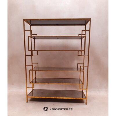 Shelf with gold frame (doris) (hall sample)