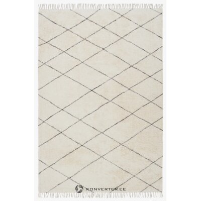 Gray patterned carpet (jotex) (hall sample, whole)