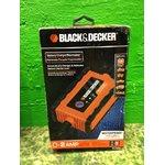BLACK & DECKER akumulatora lādētājs, ūdensnecaurlaidīgs, dažādiem galiem