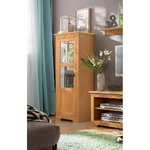 Light brown solid wood cabinet (laura) (whole, in box)