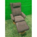 Dark brown rotate armchair