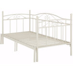 Bibi Daybed 90 with pull-out function (+90) x 200 cm / white metal