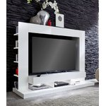 White TV Cabinet (ttx-05) (with defects in the box)