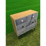 Light with 6 drawer chest of drawers