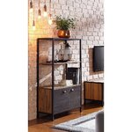 Brown-black shelf (soho)