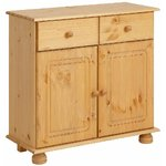 Solid wood light brown chest of drawers