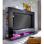 Black and gray TV cabinet (ttx-05) (in a box with beauty defects)