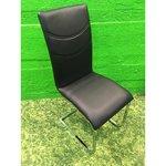 Must pehme tool nahkkattega