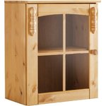 Light brown small solid wood wall cabinet (sylt) (whole, in box)