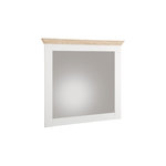 Bruce Mirror White/Oak 3 Doors