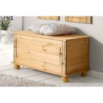 Light solid wood chest