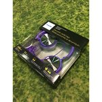 Large purple headphones Philips SHL3160
