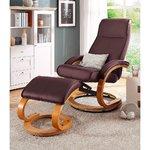Красновато-коричневое кресло воняет