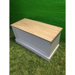 White with storage lid