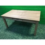 To make light, solid wood dining table with drawer with strong beauty bugs