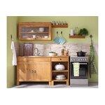 Настенный шкаф из массива дерева (Осло) (образец зала, с дефектами красоты)