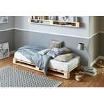 Solid wood bed (Atlantic) (without mattress)