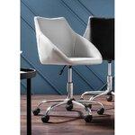 Pilka biuro kėdė (dylan)