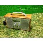 Puidust korpusega raadio BUSH 1507 (Voolujuhe puudu)