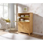 Light brown solid wood cabinet (pivo) (whole, in box)