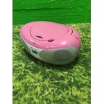 """Pink"" radijas ir CD grotuvas su Bluetooth ""BUSH CD-78-BTFM"" (""Full"")"