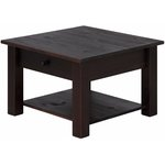 Yvonne Coffee Table small Havana lacquer