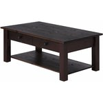 Yvonne Coffee Table large Havana lacquer