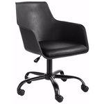 Leslie Office Chair black Plastic/ PU / metal