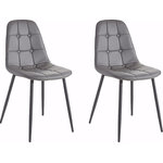 Tito Chair 4 pack - Grey
