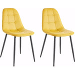 Tito Chair 2 pack - Curry